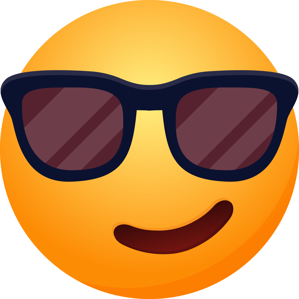 Emoticon Cool