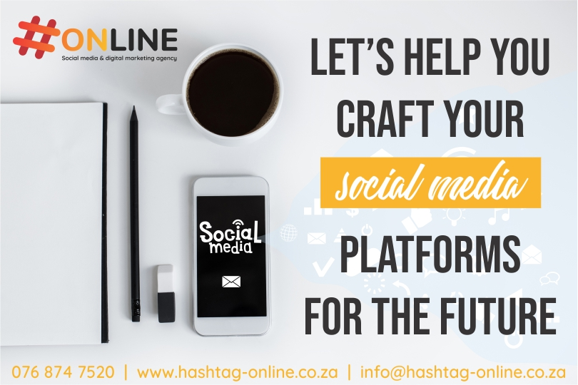 Let's help you craft your social media platforms for the future